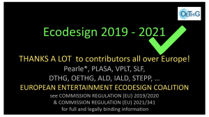 Eco-design, 2019-2021